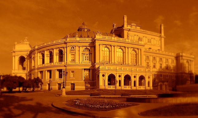Opera Theater Sephia