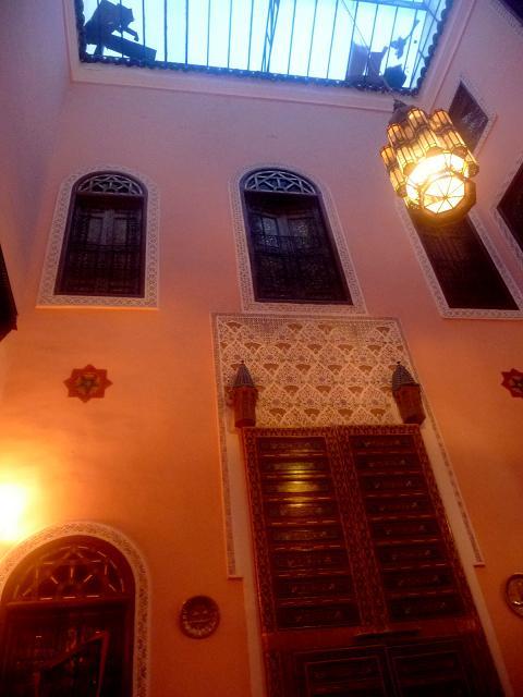 Lubang sirkulasi udara diatas Inner Court