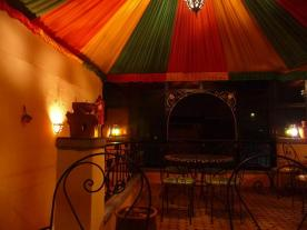 Dining room di Roof top Riad Meknes